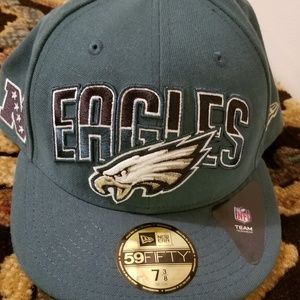 Other - Fitted Eagles Hat
